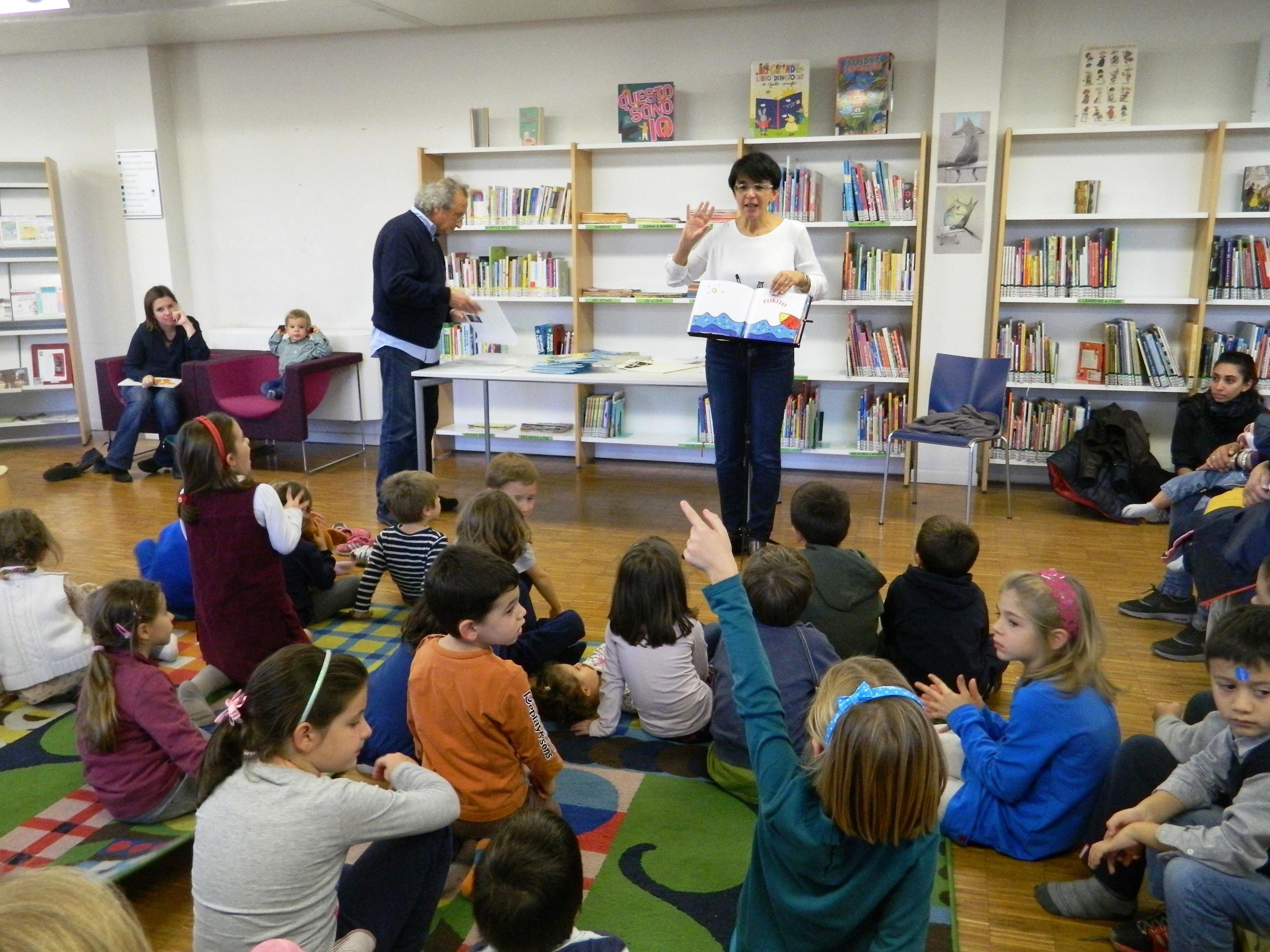 Anna Peiretti legge una storia