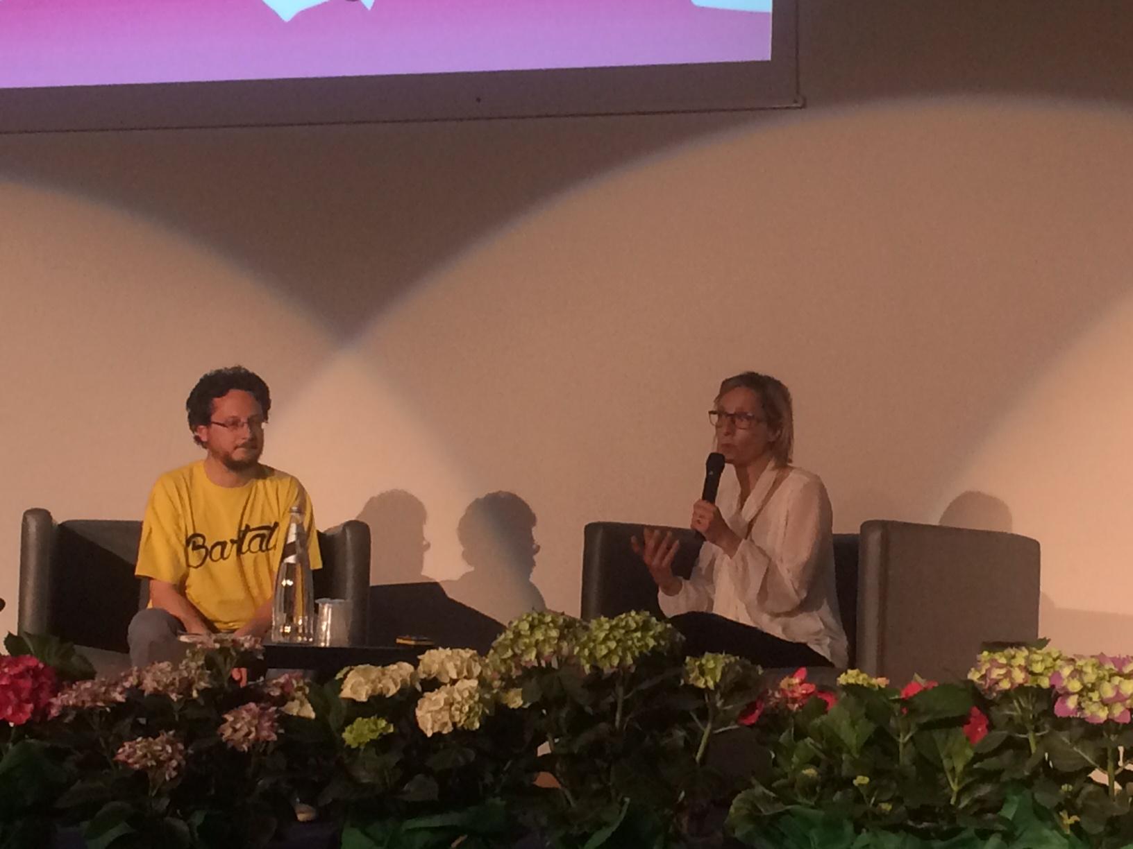 Gioia Bartali intervistata da Paolo Reineri