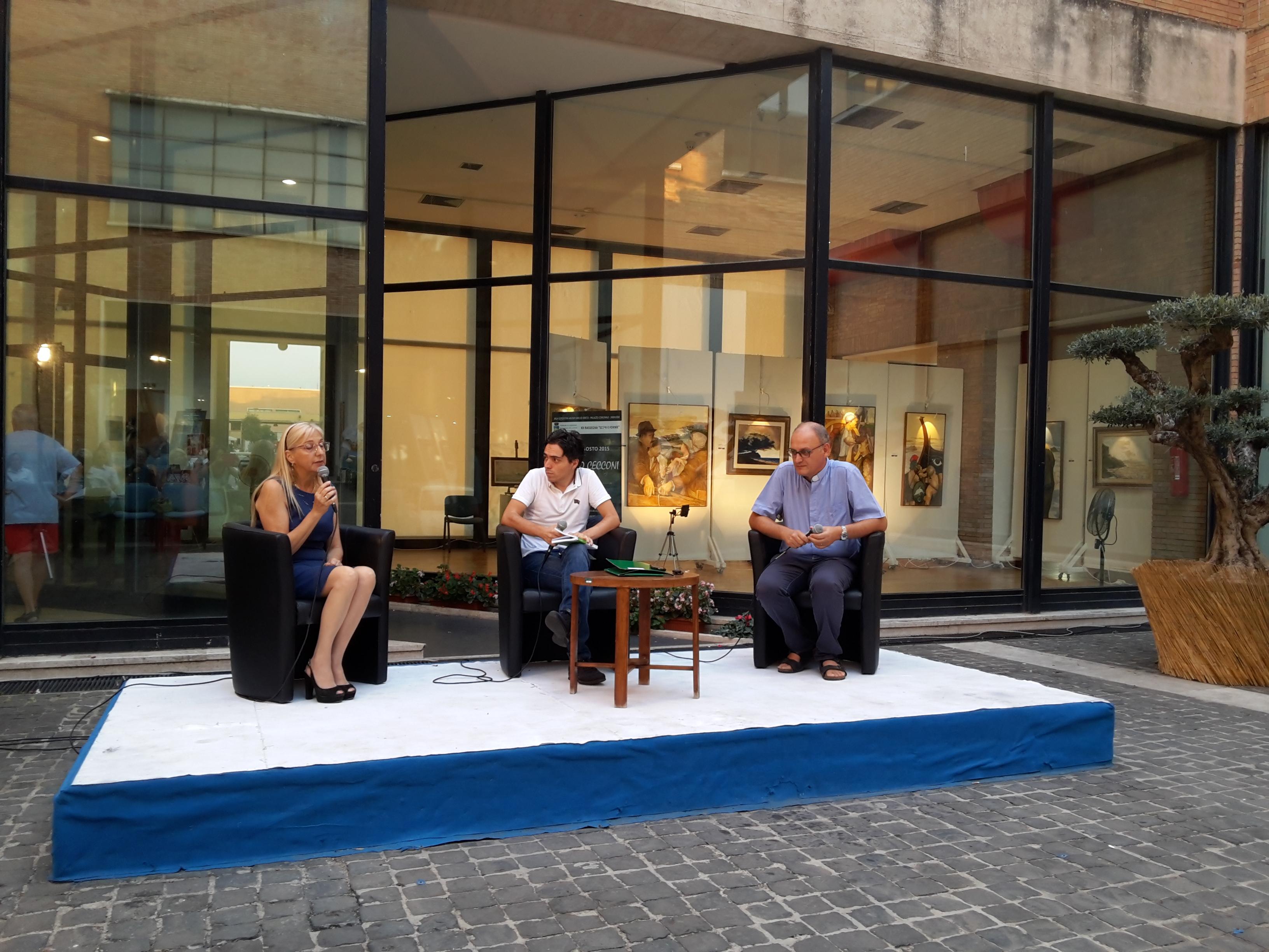 Marilena Gelardi, Vincenzo Danieli, don Massimo Castagna