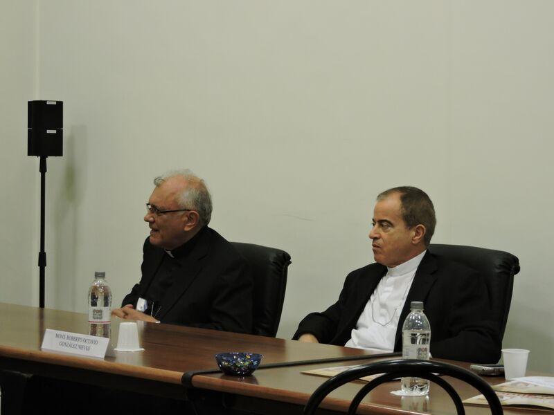 Gli Arcivescovi Porras Cardozo e Gonzàlez Nieves