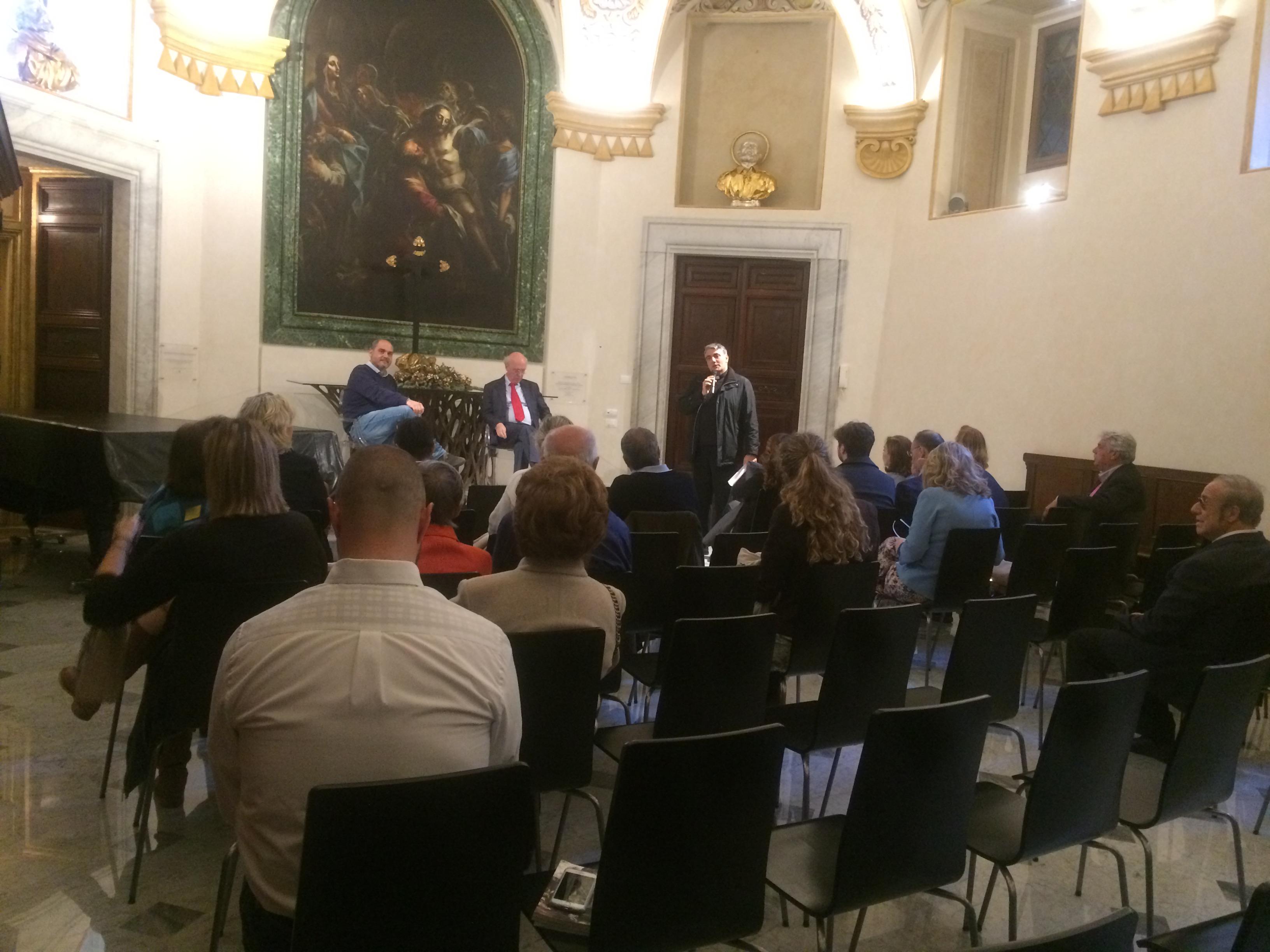 Roma, la Sagrestia di S. Maria in Montesanto 19 aprile 2018