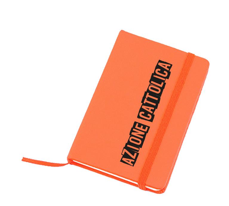 blocknotes arancione