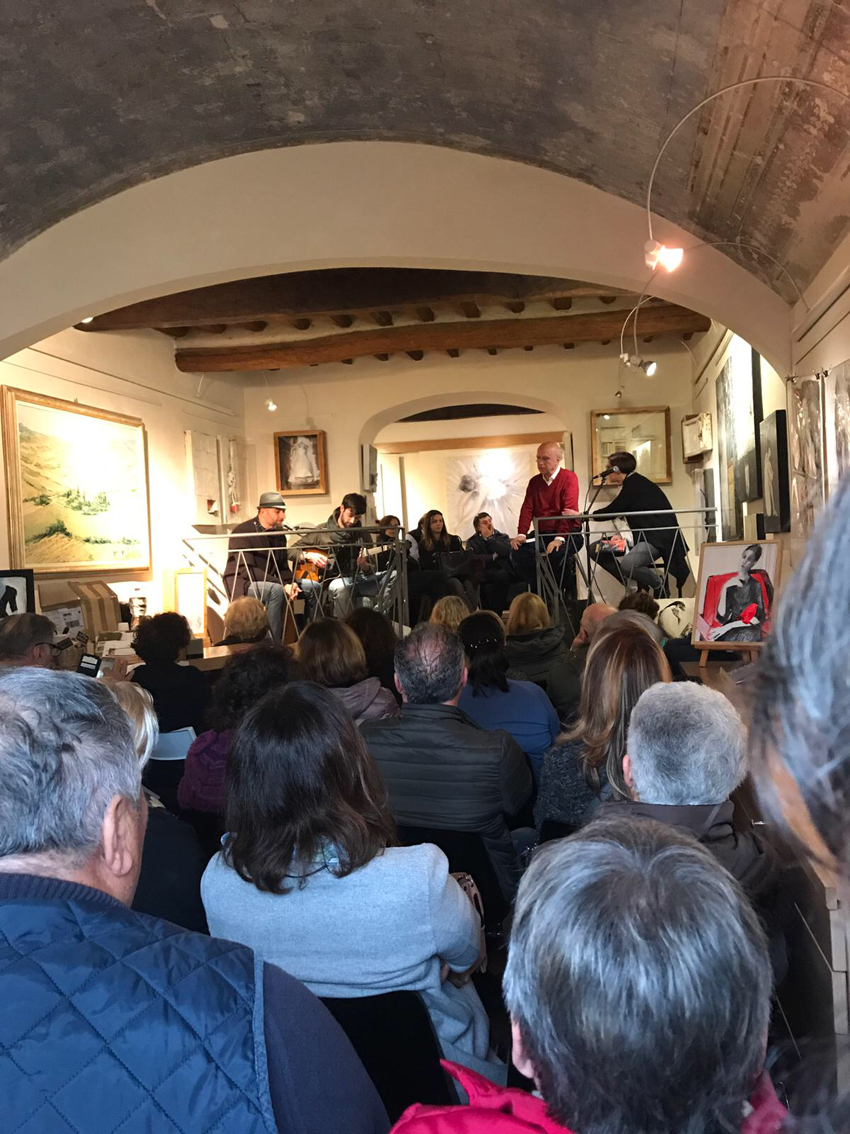 Montaione, Art Gallery in Tuscany, 11 aprile 2018