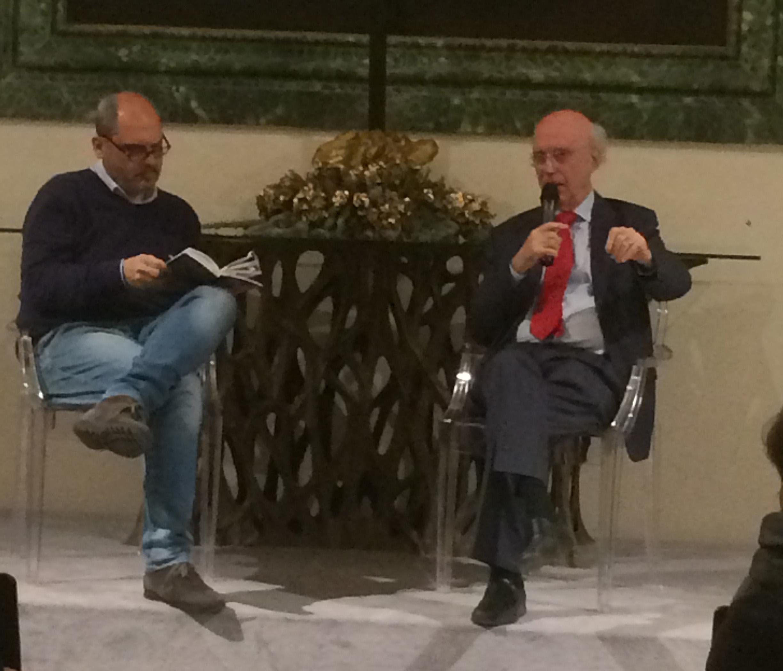 Roma, 19 aprile 2018 Giuseppe Notarstefano con Sandro Calvani