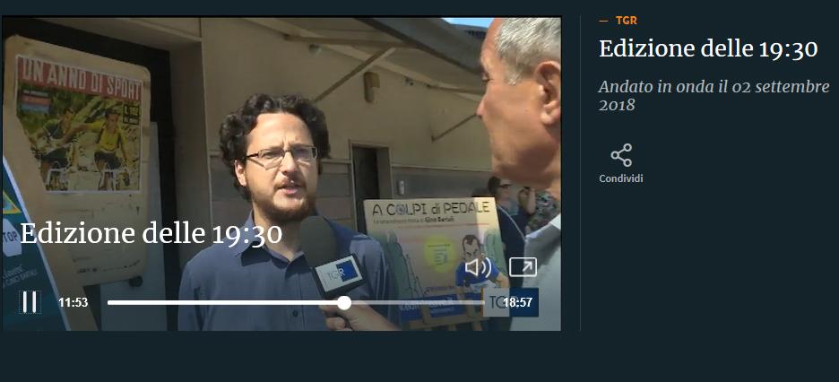 Paolo Reineri intervistato dal TGR