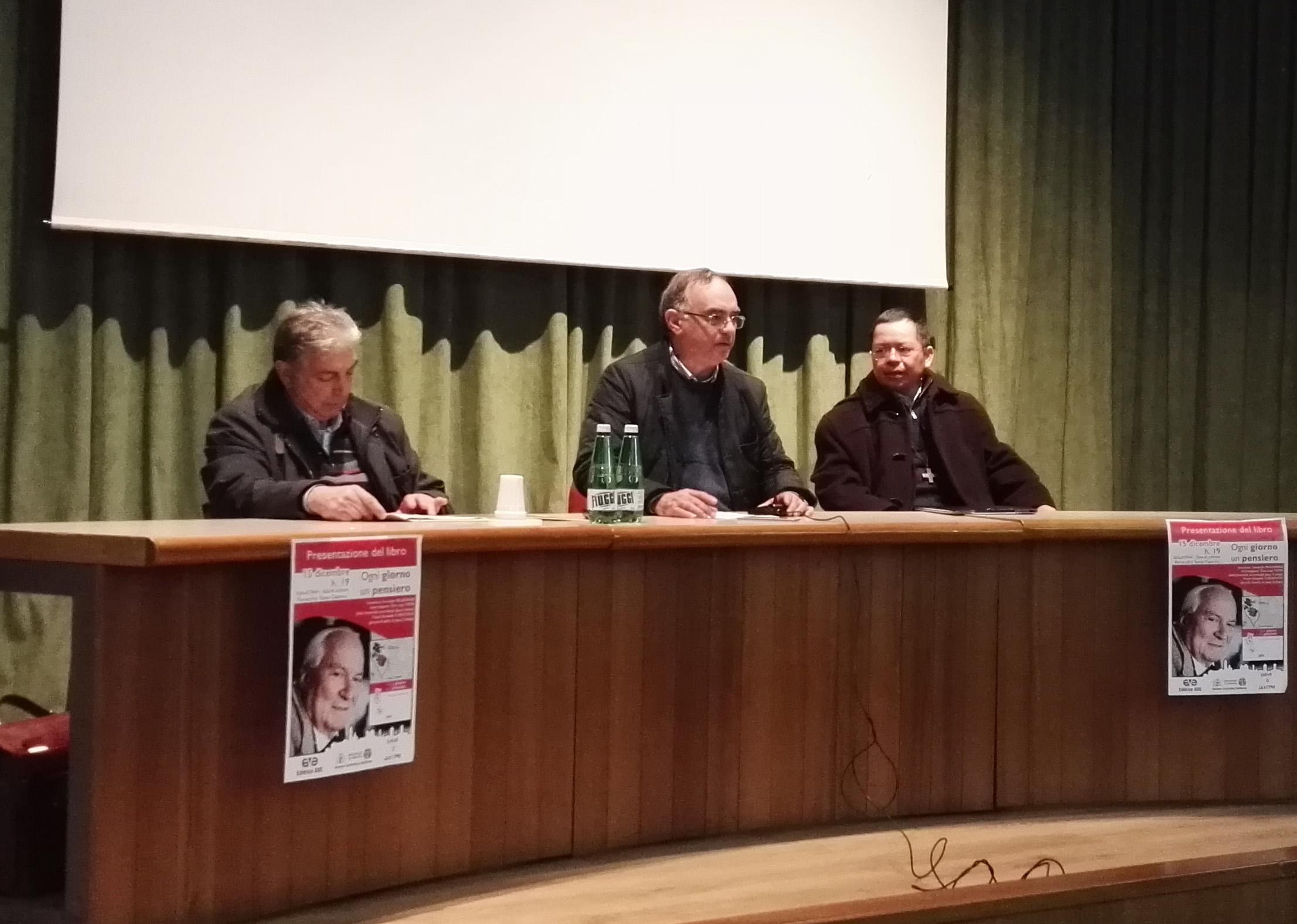 Luigi Toma, Fernando Pellegrino, Oswaldo Curuchich