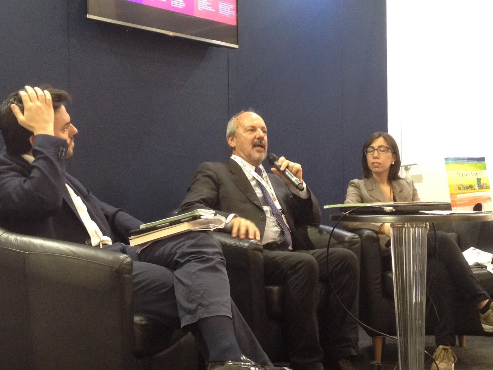 Umberto Ronga, Fabio Zavattaro e Luisa Alfarano
